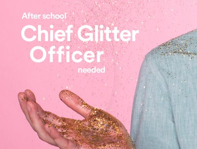 Chief Glitter Officer | Koru Kids