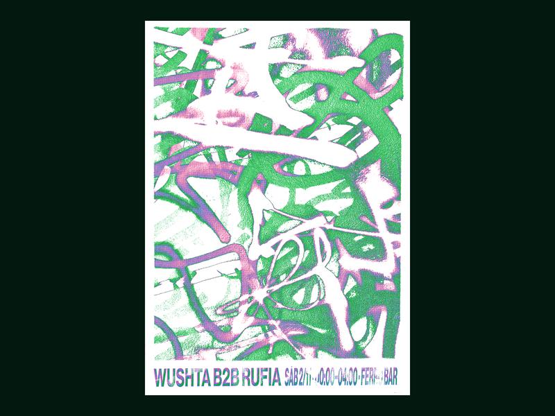 Wushta B2b Rufia Poster