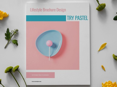 Pastel Lifestyle Brochure Template report annual annual report pastel portfolio photography minimalist clean professional modern catalog magazine template printable print indesign adobe usletter us letter a4