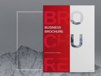 Red Business Brochure Template advertising branding lookbook fashion minimalist clean professional modern catalogue catalog magazine template print design printing printable print indesign adobe us lettter a4