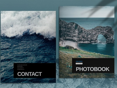 Minimal Photobook Brochure Template business catalog template brochure portfolio magazine business catalog brochure