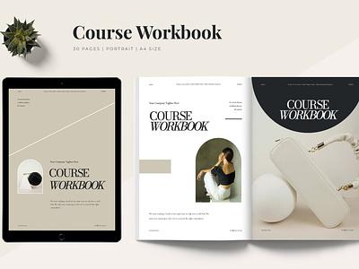 Hera - Workbook Template catalog blog ebook clean template printable marketing social media social free download ebook blog canva workshop print class online webinar course