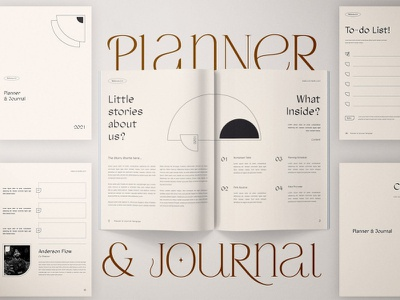 Planner & Journal journal planner clean template printable marketing social media social free download ebook blog canva workshop print class online webinar course