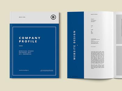 Company Brochure Template branding motion graphics graphic design 3d animation logo illustration design magazine indesign printable catalog print clean template