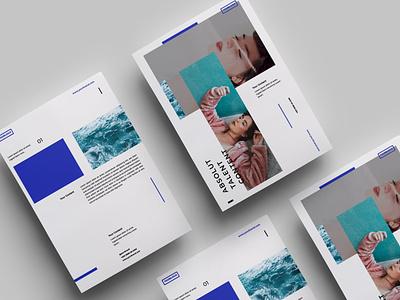 Minimalist Flyer Design.04 online webinar minimal logo illustration design magazine indesign printable catalog print clean template
