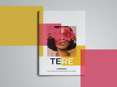 Tere Lookbook branding motion graphics graphic design 3d ui animation logo illustration design magazine indesign printable catalog print clean template lookbook