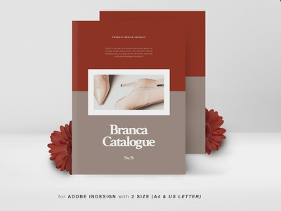 Branca Product Design Catalog lifestyle lookbook portfolio minimal modern business brochure catalog business catalog professional catalog professional design indesign magazine printable catalog print clean template brand product product