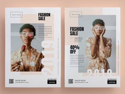 Fashion Flyer style product illustration design indesign magazine catalog printable print template clean modern simple lookbook fashion poster flyer poster flyer simple flyer template flyer