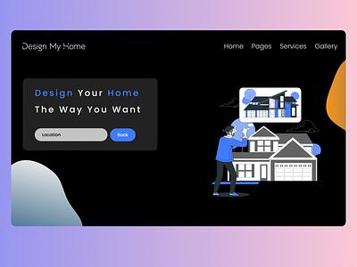 Daily UI :: 003 Landing Page dailyuichallenge dailyui daily 100 challenge daily ui webdesign minimal design ui