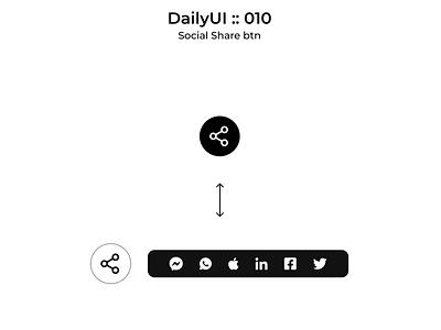 DailyUI :: 010 Social share social sharing social share webdesign dailyui daily 100 challenge daily ui design ui