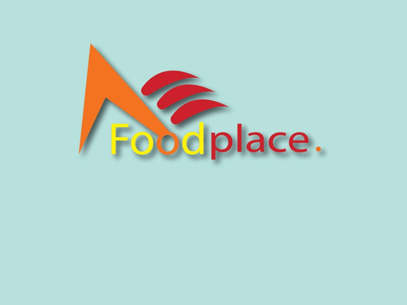 Food Place logo design