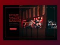 Daily UI #003 F**CK Yeah! Ramen Landing Page