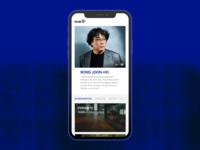 Daily UI #006 Mubi Director User Profile