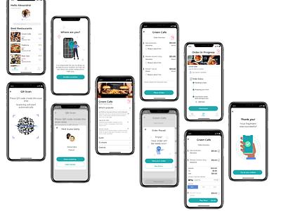 SERVED App Design design ux ui