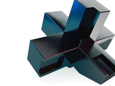 abstract figure cinema 4d 3d design illustration