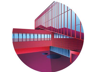 SZTUKA ARCHITEKTURY architechture design graphicdesign illustration