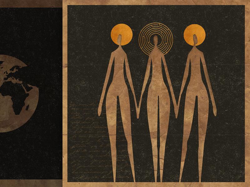 Formlessness spirituality sacred design manuscript album cover album cover art book cover poster design book illustration design illustration