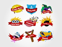 Game Design: Badges for Rascals SA