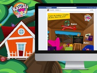 Game Design: Treasure Hunt Social Challenge Rascals SA