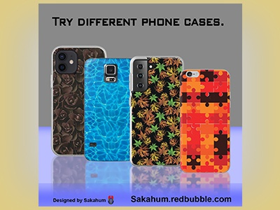 Social media Post/Ad pattern buy phone cases graphic design product photoshop post advertisement instagram facebook social media