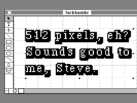 Why *did* Apple choose 512 pixels, and Dribbble 400?