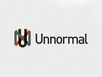 Recycled Logo Concept for Unnormal