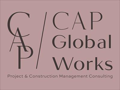 CAP identity brand identity branding typography logo