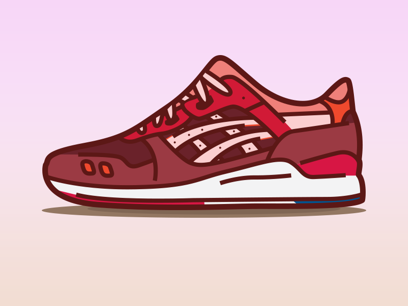 sneakers for cheap 472fa 38565 Ronnie Fieg x Asics Gel Lyte III Volcano by Jose Garza on ...