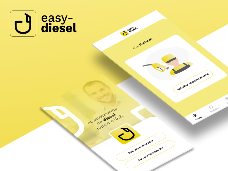 Easy Diesel - Logo and UI