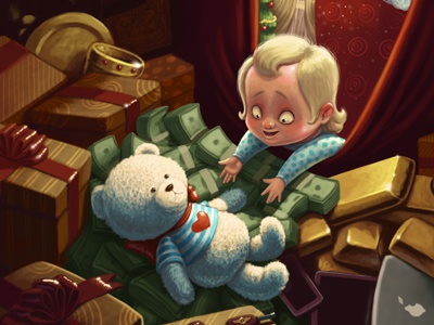Christmas card christmas card teddy bear baby new year christmas gifts