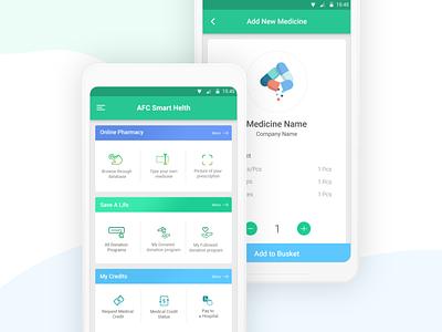 Online Medicine Sell Mobile App Design Concept e ecommerce app medicine app medical app online medicine store ui design ux design template design ui ux