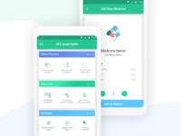 Online Medicine Sell Mobile App Design Concept