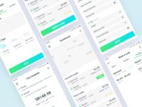 Truck Hiring - Mobile App Design Concept