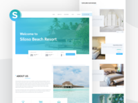 Siloso - Resort Booking Website Concpet