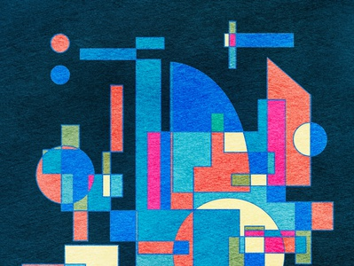 Abstract cityscape in geometric shapes contemporary art abstraction abstract geometric illustration geometric cityscpae cityview landscape creative architecture abstract art cityscape graphic design surfacedesign pattern design geometric art geometrical abstractart graphicdesign geometric design