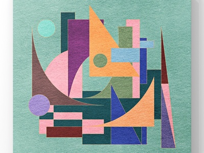 Abstract cityscape in geometric shapes illustration poster surface surface pattern design surface pattern surface design pattern design pattens pattern geometric illustration geometric design geometrical geometric architectural architecture city illustration city branding city guide cityscape city cityview
