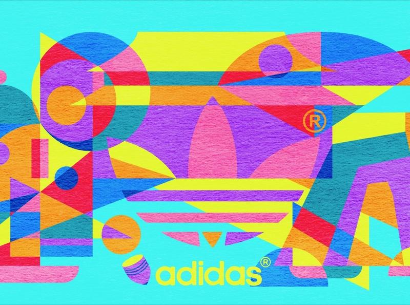 Illustration for Adidas Originals Beijing Shop sports branding beijing cityview geometric illustration art shop design branding design branding adidas originals adidas abstract art geometric illustration cityscape design geometric design geometrical abstract abstractart geometric art illustration