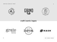 Revive Display Font Logos