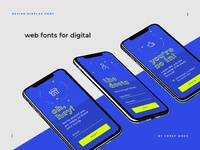 Revive Display Web Fonts