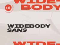 Widebody Sans is Live!