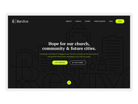 Revive Website Landing
