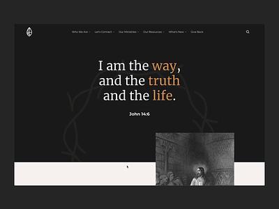 Cottage Grove Church | Jesus cottage grove gospel church responsive ui design webflow uiux ui web webdesign king savior christian christ jesus