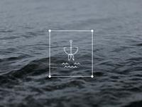 """Hooked"" - Wedding Shower Illustration"