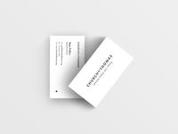 Church Of Thomas Business Card Design