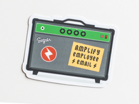 Amplify Employee Email Sticker