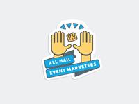 Event Marketers Sticker
