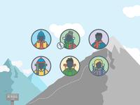 Mount Revenue Infographic Assets