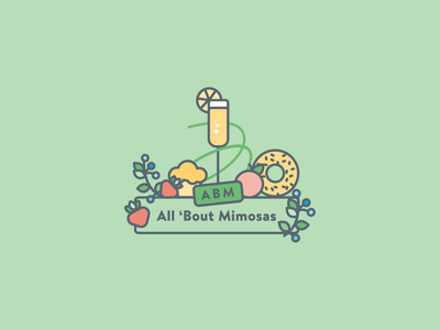 All 'Bout Mimosas Logo