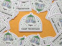 Camp Techstack Sticker