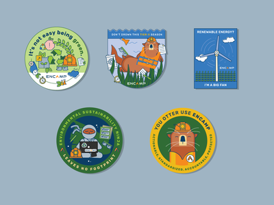 Encamp Stickers